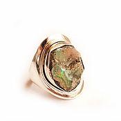 Украшения ручной работы. Ярмарка Мастеров - ручная работа кольцо Эфиопия.Опал. Handmade.