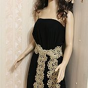Аксессуары handmade. Livemaster - original item The girdle is laced .long