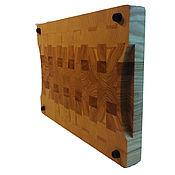 Посуда handmade. Livemaster - original item End cutting Board. Handmade.