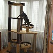 """Для домашних животных, ручной работы. Ярмарка Мастеров - ручная работа Когтеточка, игровой комплекс """" Фараон"""". Handmade."""