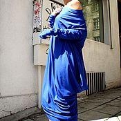 Платья ручной работы. Ярмарка Мастеров - ручная работа Платье Индиго. Handmade.