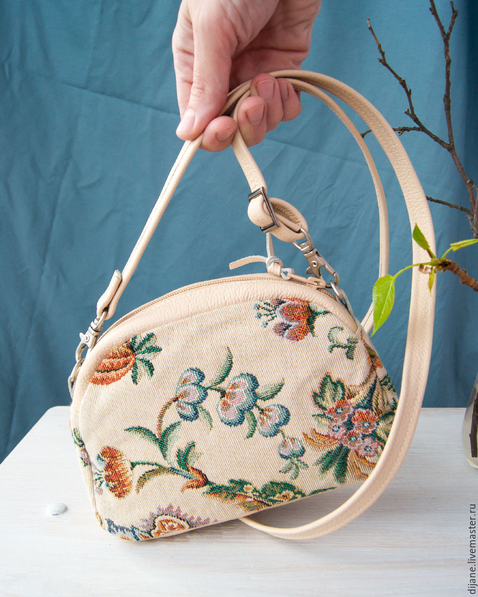 Летние сумки из гобелена своими руками
