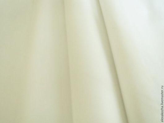 Шитье ручной работы. Ярмарка Мастеров - ручная работа. Купить Кожа натуральная Наппа белая. Handmade. Белый, кожа КРС