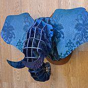 Для дома и интерьера ручной работы. Ярмарка Мастеров - ручная работа Животные из фанеры (Слон). Handmade.