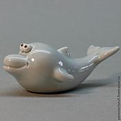 Куклы и игрушки ручной работы. Ярмарка Мастеров - ручная работа Дельфин. Handmade.
