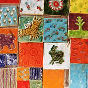 Для дома и интерьера ручной работы. Ярмарка Мастеров - ручная работа Керамическая плитка С картинками 1 кв метр. Handmade.