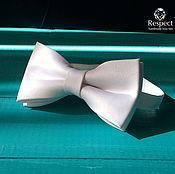 Аксессуары handmade. Livemaster - original item White tie White tie / bow tie white. Handmade.