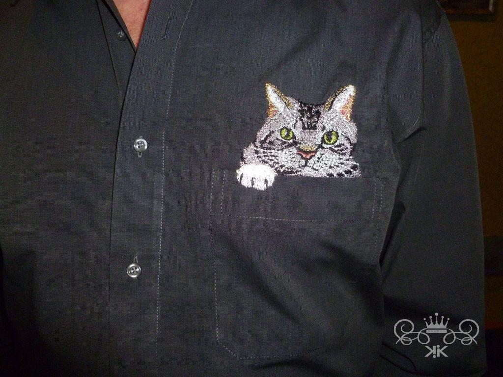 Вышивка на рубашке заказать