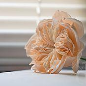 Свадебный салон ручной работы. Ярмарка Мастеров - ручная работа Староанглийская роза Девида Остина в прическу. Handmade.