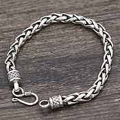 Украшения handmade. Livemaster - original item Silver bracelet unisex. Handmade.