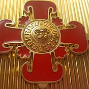 Пряжка «Versace» с крестом