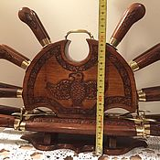 Набор ножей и вилок для шашлыка и пикника