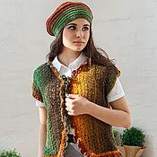 Одежда ручной работы. Ярмарка Мастеров - ручная работа Жакет вязаный  Каприз. Handmade.