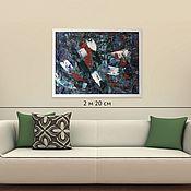 Картины и панно handmade. Livemaster - original item Buy oil painting Minsk, Abstraction, contemporary art, 60H80. Handmade.