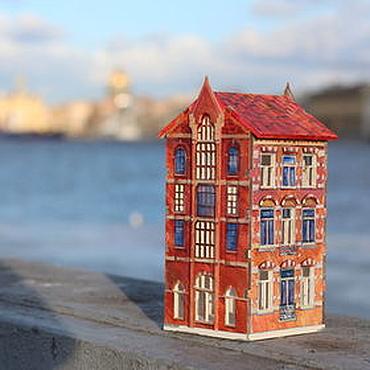 Для дома и интерьера ручной работы. Ярмарка Мастеров - ручная работа Светильник Амстердам. Handmade.