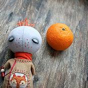 Куклы и игрушки ручной работы. Ярмарка Мастеров - ручная работа Человек с лисой. Handmade.