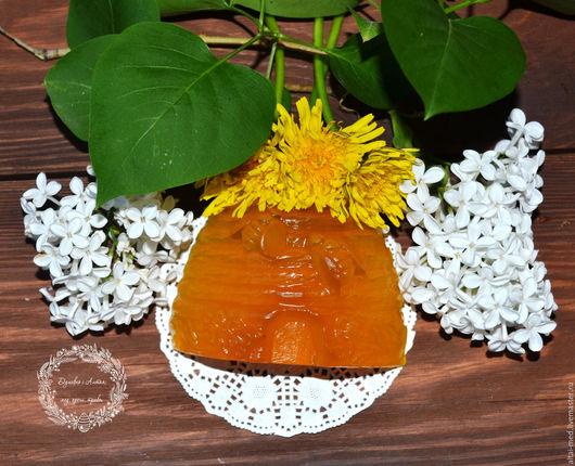 Мыло ручной работы. Ярмарка Мастеров - ручная работа. Купить Пчелиный улей - медовое мыло с прополисом и облепиховым маслом. Handmade.