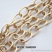 Материалы для творчества handmade. Livemaster - original item Chain gilding - 22h15mm Yu.Korea (0.5 m). Handmade.