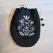 """Для дома и интерьера ручной работы. Ярмарка Мастеров - ручная работа Саше """"Королевский чёрный"""". Handmade."""