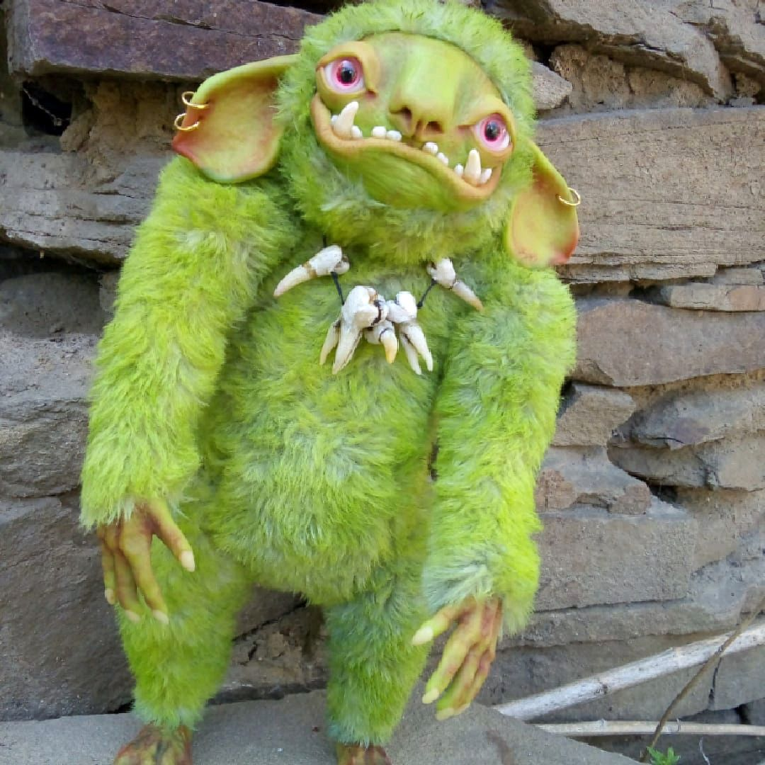 Огр интерьерная кукла игрушка, Интерьерная кукла, Каменск-Шахтинский,  Фото №1