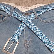 Аксессуары handmade. Livemaster - original item belt kumihimo