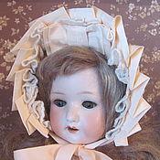 Куклы и игрушки ручной работы. Ярмарка Мастеров - ручная работа Боннет для антикварной куклы. Handmade.