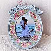 Сувениры и подарки handmade. Livemaster - original item Photo frame shabby chic,
