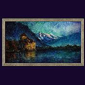 Картины и панно handmade. Livemaster - original item Paintings: keeping quiet: castle. Handmade.