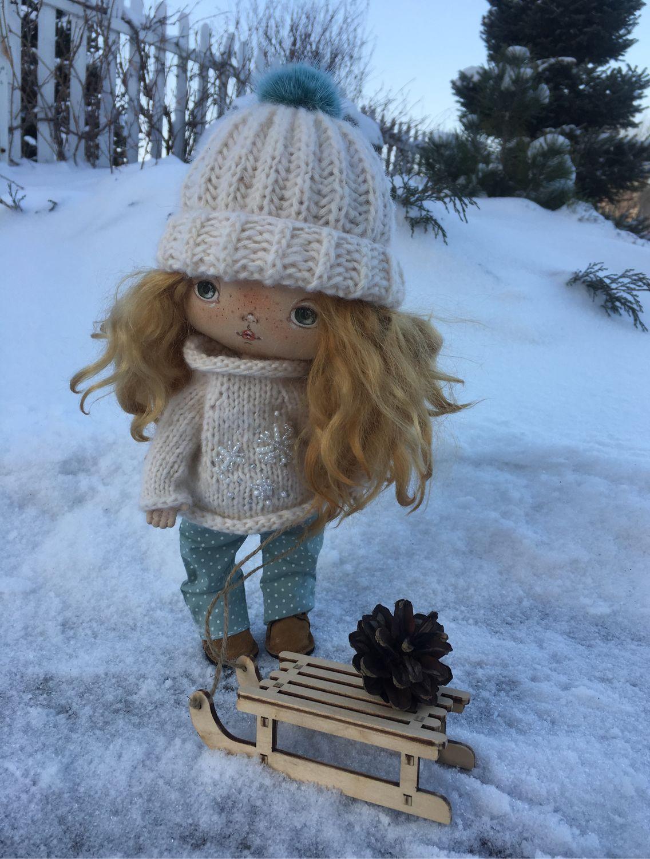 Текстильная кукла, Тыквоголовка, Новосибирск,  Фото №1
