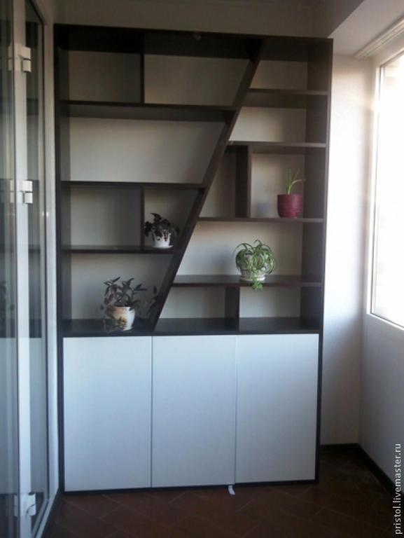 Оригинальный шкаф на балкон..