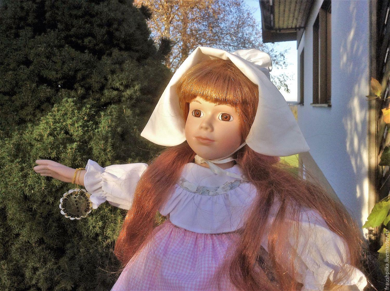 48 Gretta Porcelain Interior Doll, Dolls, Augsburg,  Фото №1