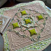 Для дома и интерьера handmade. Livemaster - original item Decorative napkin-tablecloth. Handmade.