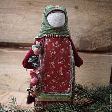 """Куклы и игрушки ручной работы. Ярмарка Мастеров - ручная работа Кукла """"Семь добродетелей"""" по мотивам народной куклы. Handmade."""