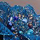 """Броши ручной работы. Брошь """"Sea flower"""". Васильева Ирина Exclusive Jewelry. Интернет-магазин Ярмарка Мастеров. Проволока"""