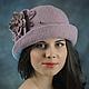 Женская шляпка Лилия