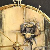 """Для дома и интерьера ручной работы. Ярмарка Мастеров - ручная работа Часы  """"Круг времени"""". Handmade."""