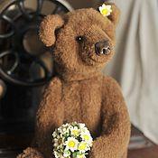 Куклы и игрушки ручной работы. Ярмарка Мастеров - ручная работа Настоящий бурый медведь Буш. Handmade.