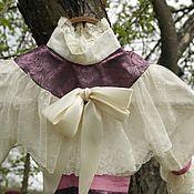 Материалы для творчества ручной работы. Ярмарка Мастеров - ручная работа Платье для высокой куклы. Handmade.