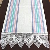 Для дома и интерьера handmade. Livemaster - original item Kitchen towel linen birds. Handmade.