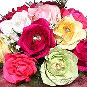 Цветы и флористика ручной работы. Ярмарка Мастеров - ручная работа Букет из конфет 4. Handmade.