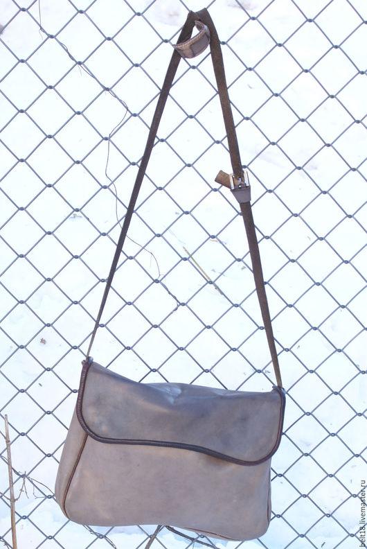 Мужские сумки ручной работы. Ярмарка Мастеров - ручная работа. Купить Сумка через плечо. Handmade. Сумка ручной работы