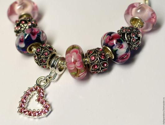 `Для тебя`  Модульный браслет Все шармы на браслете можно приобрести отдельно и создать свой собственный браслет