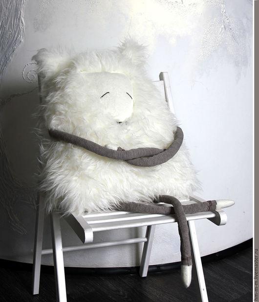 Игрушки животные, ручной работы. Ярмарка Мастеров - ручная работа. Купить Песец, он же Полярная Мышь. Handmade. Белый