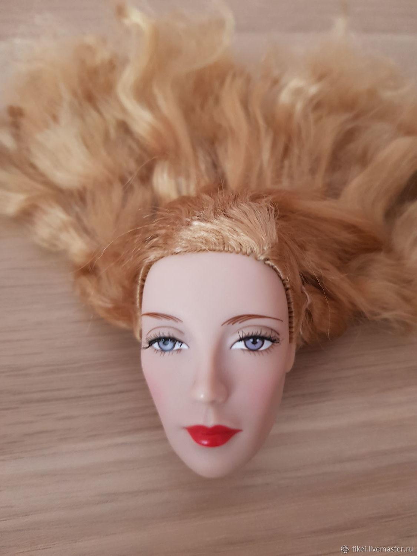"""Коллекционные куклы ручной работы. Ярмарка Мастеров - ручная работа. Купить Куклы: Голова Glinda 16"""" Madame Alexander. Handmade."""