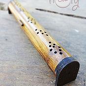 """Фен-шуй и эзотерика ручной работы. Ярмарка Мастеров - ручная работа Бамбуковая подставка для благовоний """"Easy Life"""". Handmade."""
