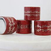 Для дома и интерьера ручной работы. Ярмарка Мастеров - ручная работа Подсвечники из фарфора. Handmade.