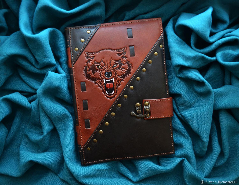 """Leather notebook """"BEAST OF PREY"""", Diaries, Krivoy Rog,  Фото №1"""