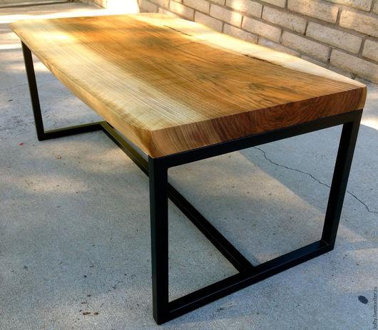 """Мебель ручной работы. Ярмарка Мастеров - ручная работа. Купить Рабочий стол """"SWANKY"""" в стилистике LOFT. Handmade. Стол"""