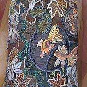 """Одежда ручной работы. Ярмарка Мастеров - ручная работа Юбка """"Рыбки в пруду"""". Handmade."""
