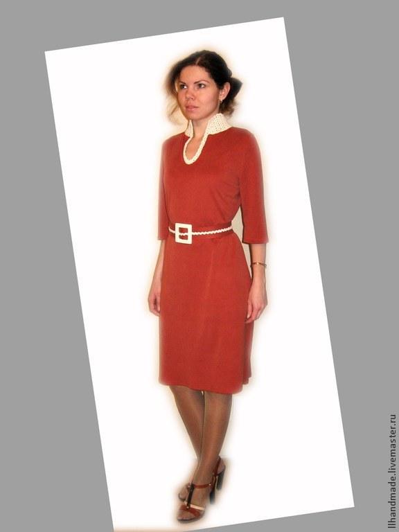 Воротнички для трикотажного платья